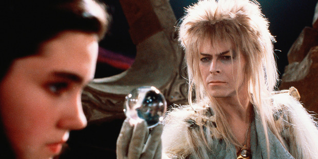 David Bowie also featured in films including the 80s classic Labyrinth. Photo / Supplied