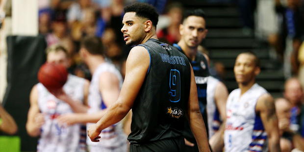 Corey Webster and the Breakers need to find answers tomorrow. Photo / photosport.nz