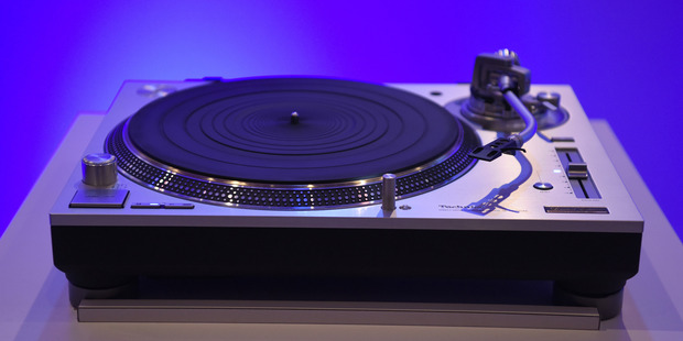 The Panasonic Technics SL 1200G Direct Drive Hi-Fi turntable displayed at the 2016 Consumer Electronics Show (CES) in Las Vegas. Photo / Bloomberg