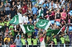 Pakistan fans cheer during the Twenty20 match between New Zealand and Pakistan. Photo / Photosport