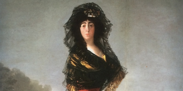 Goya's rendition of the Duchess of Alba.