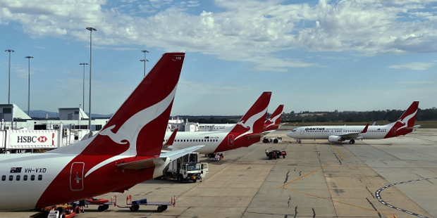 Brendan Hetherington won't be able to board another Qantas plane for five years. Photo / Getty Images