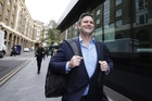 Chris Cairns is all smiles after being found not guilty of perjury at last year's trial. Photo / Chros Gorman