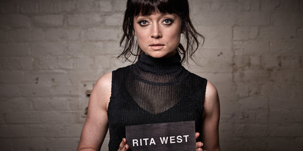 Antonia Prebble as Rita West in Westside. The star has joined a campaign to highlight the uses of an arts degree.