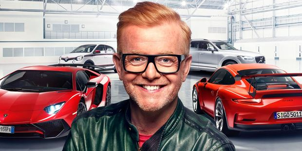 Chris Evans is the new host for Top Gear, which will return to New Zealand TV screens in 2016.