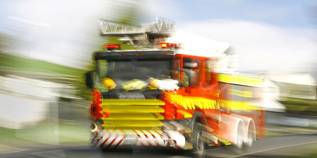 Firefighters were called at 2.23pm, with crews from nine units battling the blaze. Photo / File