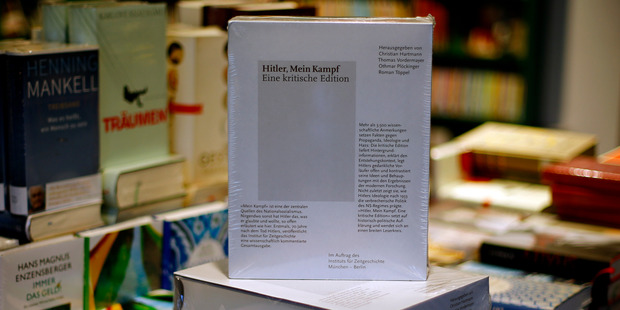 The manifesto is regarded as the foundation of Hitler's brutal ideology and remains controversial today. Photo / AP