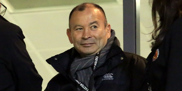 Eddie Jones has set his sights on taking down the All Blacks. Photo / Getty Images