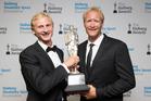 2015 supreme Halberg Award winners Hamish Bond and Eric Murray. Photo / Nick Reed
