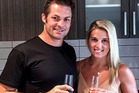 Richie McCaw and Gemma Flynn are looking forward to a great year ahead, so does that mean the wedding will be in 2016? Photo / Facebook