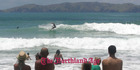 View: Surfing at Taupo Bay