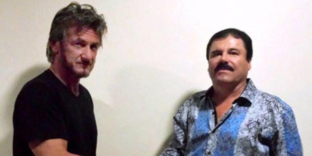 "Joaquin ""El Chapo"" Guzman met with U.S. Sean Penn in his hideout in Mexico. Photo: Sean Penn"