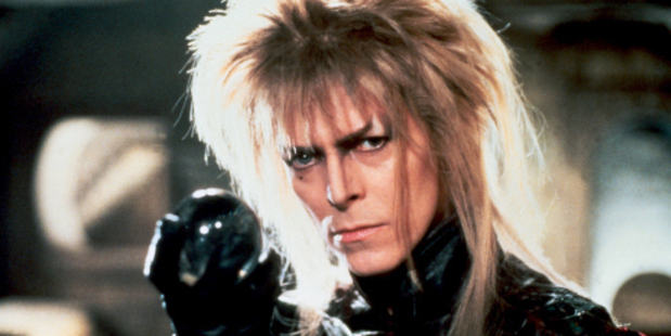 Every child of the  80s remembers Bowie's bonkers character in Labyrinth.