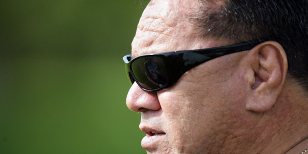 Peter Fatialofa died suddenly in November 2013. Photo / Getty Images