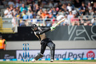 Martin Guptill had the Black Caps off to a fast start in their chase. Photo / Jason Oxenham