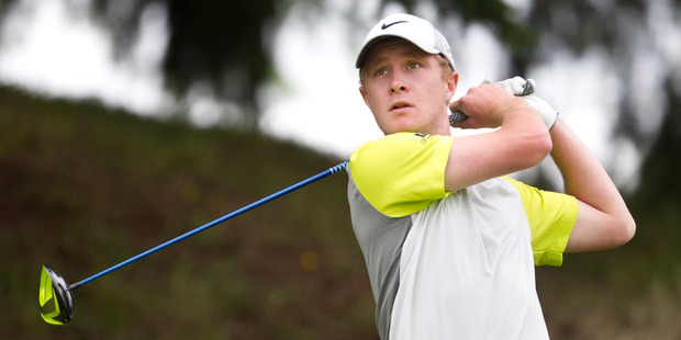 Bay of Plenty's Charlie Hillier won the Danny Lee Springfield Open after a dramatic finish. Photo Stephen Parker