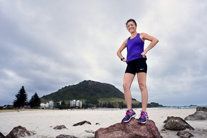 Frances Stringfellow is going to run the London marathon to raise money for the Cancer Society. Photo/George Novak