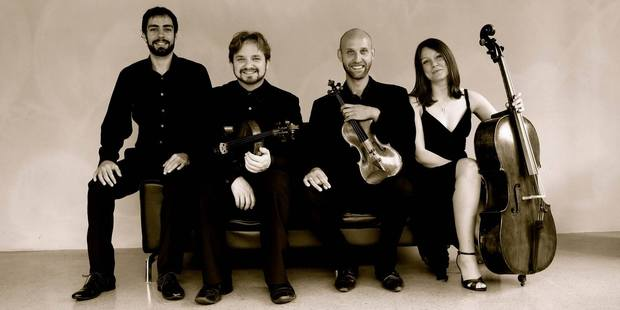 The best part of the Villani Piano Quartet 's Wednesday concert was  setting the moody and melancholic Mahler against the moody and occasionally manic Schnittke.