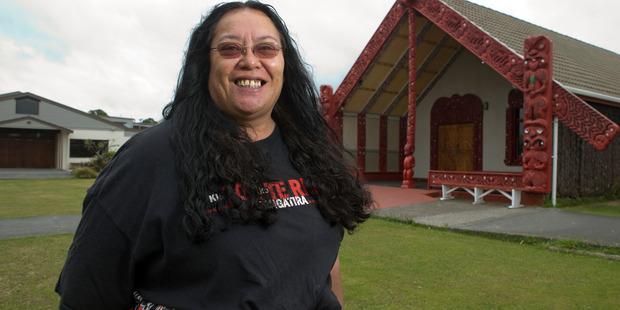 Missy Te Kahu at Takapuwahia Marae in Porirua where she witnessed the visit by David Bowie in 1983. Photo / Mark Mitchell