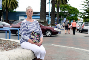 Regular shopper in Mount Jill Harper wants the parking to remain. Photo/George Novak