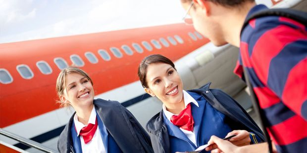 Be nice to flight attendants and they will be nice to you. Photo / 123RF