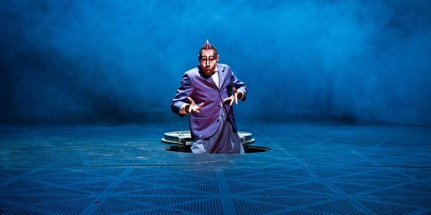Cirque de Soliel. Photo / Matt Beard
