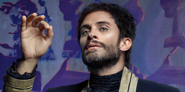 Gael Garcia Bernal as the charmingly demented conductor, Rodrigo.