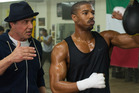 Sylvester Stallone won a Golden Globe for Best Performance by an Actor in a Supporting Role as Rocky Balboa in the film Creed, alongside lead actor Michael B. Jordan.