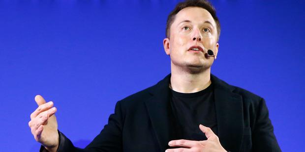 Tesla boss Elon Musk. Photo / AP