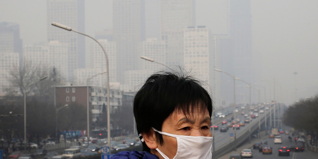 World experts put environmental risks top of the forum report. Photo / AP