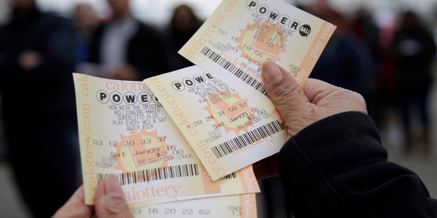 The American Powerball lottery with a prize of $1.3 billion will be drawn this week. Photo / AP