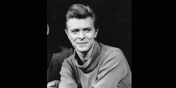 David Bowie was ahead of the curve in business, just as he was in arts and culture. Photo / AP