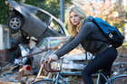 Chloe Grace Moretz as Cassie Sullivan in a scene from the film The Fifth Wave. Photo / AP