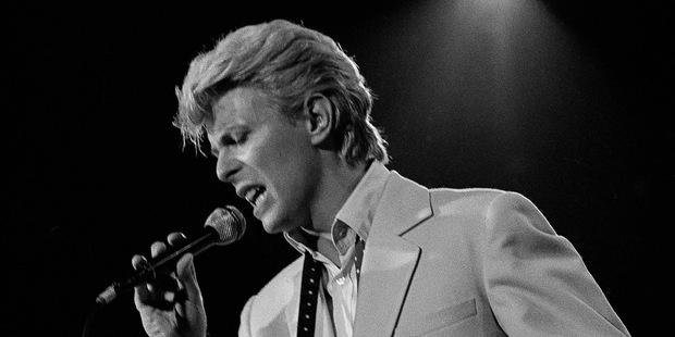 Music legend David Bowie. Photo / AP