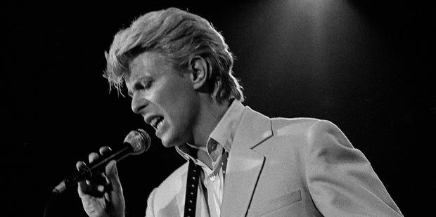 David Bowie. Photo / AP
