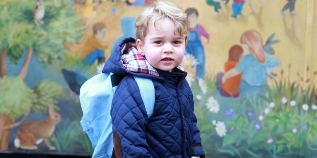 Prince George is heading off to nursery school. Photo / Kensington Palace