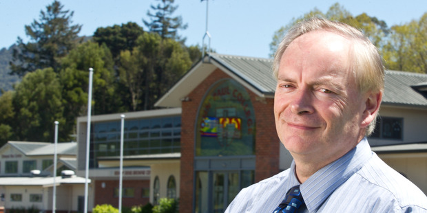 John Paul College principal Patrick Walsh. Photo / NZME.