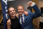 Block winners Brooke Davies and Mitch Thompson have purchased a piece of land in Queenstown. Photo / Brett Phibbs