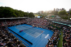 While locals enjoyed a feast of tennis over the past two weeks at the ASB Classic, one ATP security official was on the lookout for
