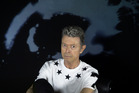 Bowie poses late last year for a promotional picture for the Blackstar album.