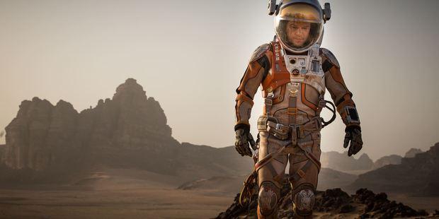 Matt Damon does a stellar job starring in The Martian.