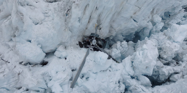 Seven people died when a helicopter crashed at Fox Glacier late last year. Photo / Supplied