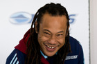 Tana Umaga at the announcement for the Blues coaching staff for the 2016 season at Alexandra Park. 23 June 2015 New Zealand Herald Photograph by Jason Oxenham.