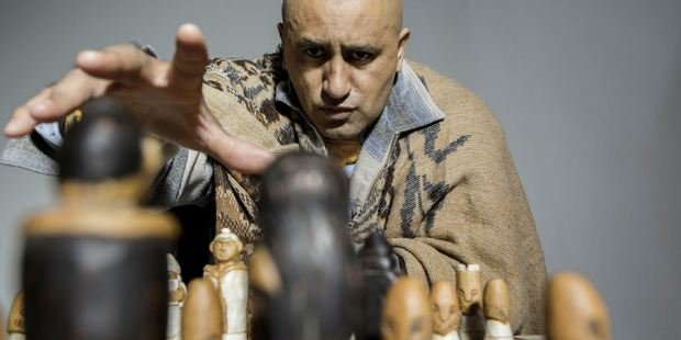 Cliff Curtis as Genesis Potini in the New Zealand film, The Dark Horse.
