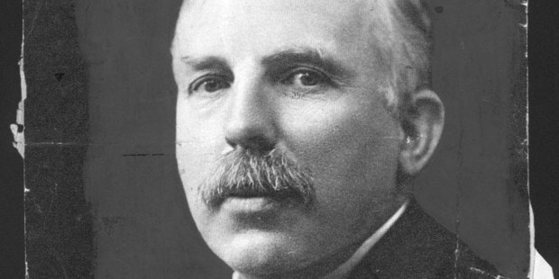 Ernest Rutherford, President of the British Association. Photo / Supplied