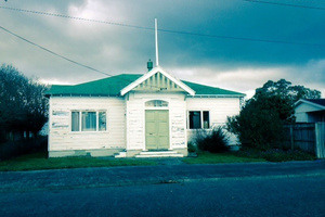 The former courthouse in Martinborough is to be the Menz Shed base in the town. FILE/PHOTO