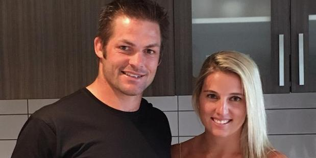 Richie McCaw and Gemma Flynn announced their engagement on Facebook. Photo / Facebook