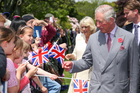 Prince Charles in New Zealand in November. Photo / Getty Images