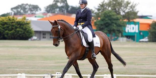 Christine Weal during dressage competition. PHOTO/FILE