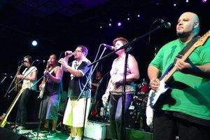 Brisbane-based reggae fusion group Paua will play King Street Live in Masterton on Sunday, January 24. PHOTO/SUPPLIED